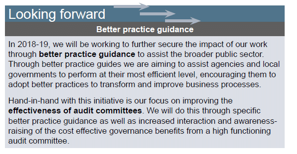 Better practice guidance