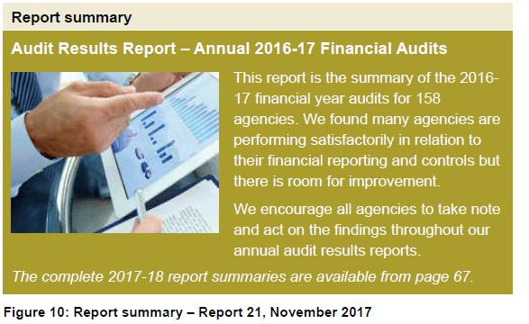 Figure 10 - Report Summary